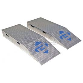 Bluff® Heavy Duty Aluminum Wheel Riser Ramps
