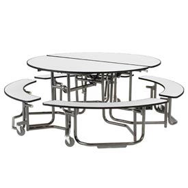 KI Uniframe® Round Table With Seating