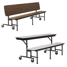 KI Uniframe® Lunchroom Tables & Convertible Benches