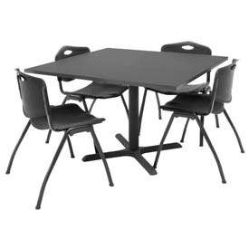 Regency - Lunchroom Table & Stack Chair Collections