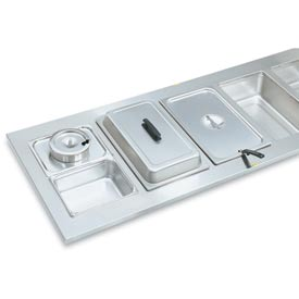 Vollrath® Stainless Steel Adaptor Plates