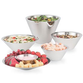 Vollrath® Double Wall Conical Bowls