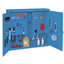 Kennedy® Wall Mounted Pegboard Cabinet