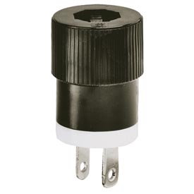 Bryant® Straight Blade 2-Pole 2-Wire Attachment Plugs