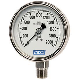 Wika® Stainless Steel Receiver Gauges
