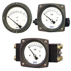 Wika® Piston Style Differential Gauges