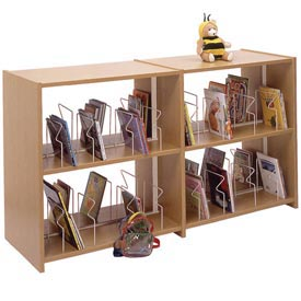Ironwood -  Glacier™ Double Faced Expandable Picture Book Shelving