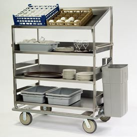 Lakeside® Soiled Dish Breakdown Carts