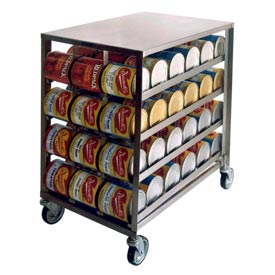 Lakeside® Can Storage And Dispensing Racks