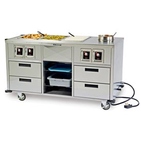 Lakeside® Serve-All™ Mobile Food Stations