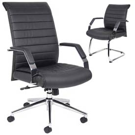 Boss Chair -  CaressoftPlus™ Executive Ribbed Chairs