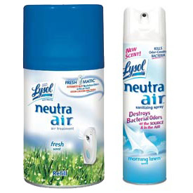 Lysol® NEUTRA AIR® FRESHMATIC® Deodorizers and Refills