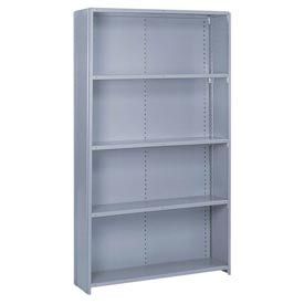 Lyon® Closed (Stand Alone) Steel Shelving - 22 Gauge - 84