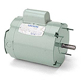 Leeson Ventilation Fan Motor Shaft Mounted, Single-Phase, TEAO, Thru Bolt Mount