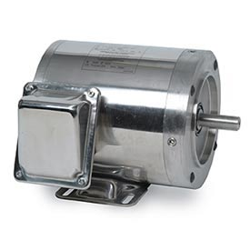 Leeson Washguard SST All-Stainless Steel, 1 & 3 Phase