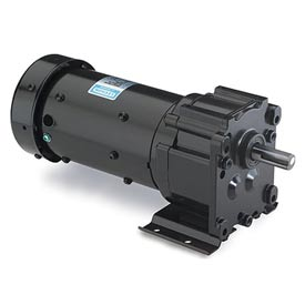 Leeson AC Gearmotors, Parallel Shaft, Totally Enclosed, 115/230V, 1-Phase, P240 Series