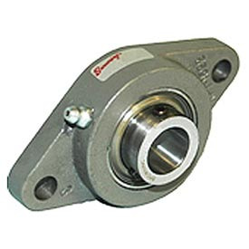 Browning Flange Mounted Ball Bearing, Cast Iron, 2 Bolt