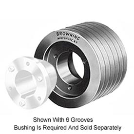 Multiple Split Taper Sheaves, 5 to 10 Grooves, Use B Belts