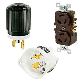 Bryant® Tech-Spec® 2-Pole 3-Wire Locking Devices