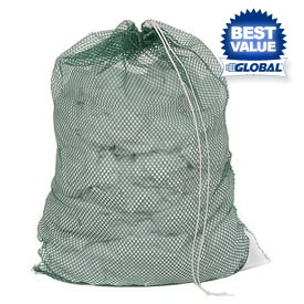 Mesh Bags With Drawstring Closure