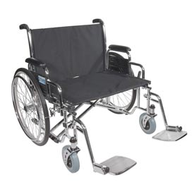 Bariatric Sentra Heavy Duty Extra Extra Wide Wheelchairs