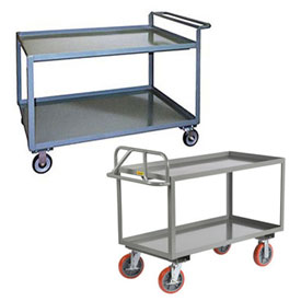 Ergonomic Steel Stock & Utility Carts