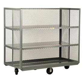 Little Giant® Sloped Shelf Clearview Steel Mesh Stock Trucks