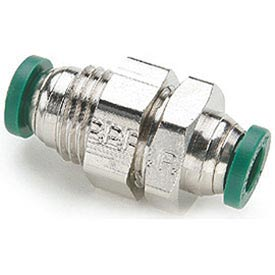 Parker Prestolok Plus™ Nickel Plated Brass Push-to-Connect Fittings