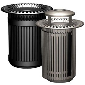 Metal Waste Receptacles