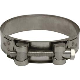 Stainless Steel H.D. Super Clamps