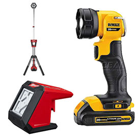 Dewalt Work Lights, Flashlights