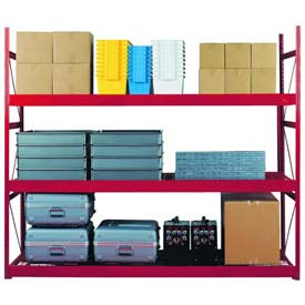 Equipto V-Grip Bulk Racks with Choice of Decking