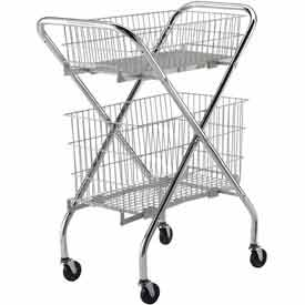 Lakeside® Multi-Purpose Wire Carts