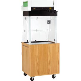 Diversified Woodcrafts -  Mobile Fume Hood Station