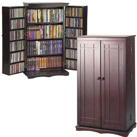 Leslie Dame -  Solid Oak Multimedia Storage Cabinets