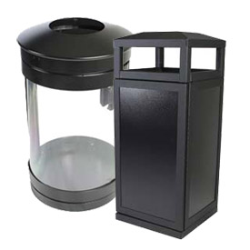 SECURR® Trash Receptacles