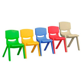 Lightweight Plastic Stack Chair