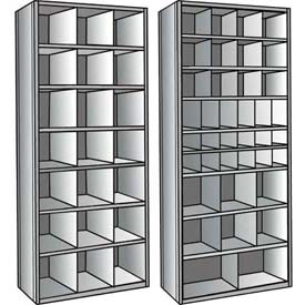 Hallowell® Hi-Tech Metal Bin Shelving Units
