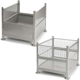 Rigid Steel Containers With Two Drop Gates
