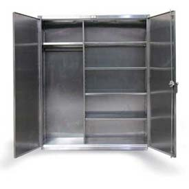 Stronghold® Stainless Steel Combination Cabinet