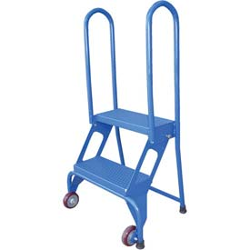 Wheeled Folding Rolling Ladders