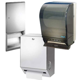 Manual Paper Towel Dispensers