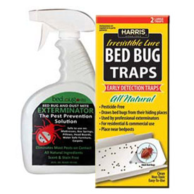 Liquid, Aerosol & Glue Bed Bug Control