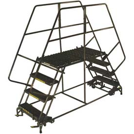 Heavy Duty Double Entry Mobile Platforms