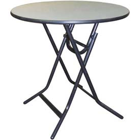 Midwest Folding - ABS Surface Round Table, X Folding