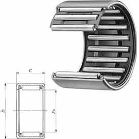 Shell Type Needle Roller Bearing - METRIC