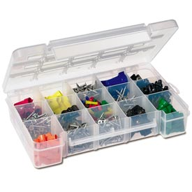 Clear Plastic Compartment Organizer Boxes