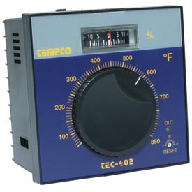Tempco TEC-402 & TEC-404 Temperature Controls
