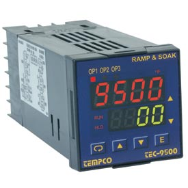 Tempco TEC-9500 & TEC-4500 Temperature Controls