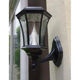 Wall Mounted Electric Lights : Renewable Energy Solar Lights Solar Powered Wall Mount Lamps - GlobalIndustrial.com